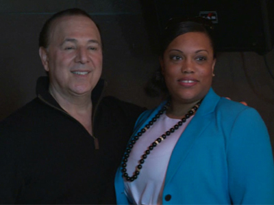 Shani Burton Johnson and Tommy Mottola